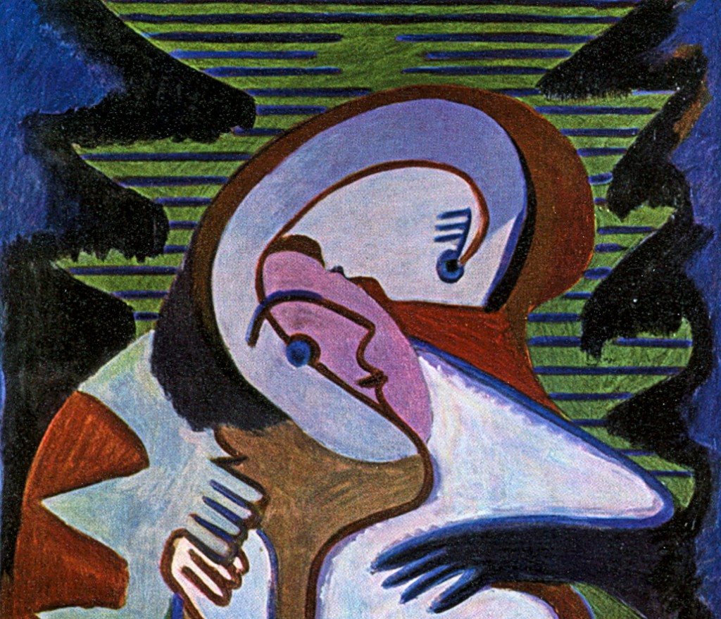 Ernst-Ludwig-Kirchner_lovers-the-kiss_A
