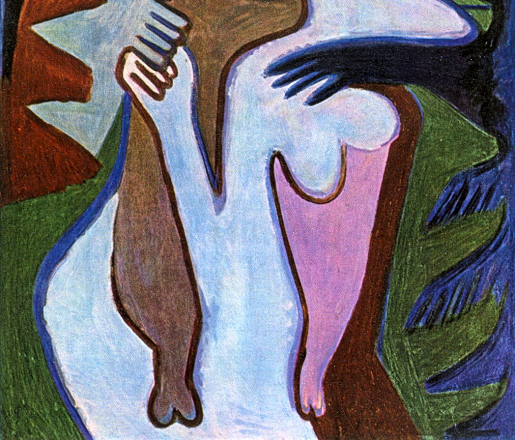 Ernst-Ludwig-Kirchner_lovers-the-kiss_B