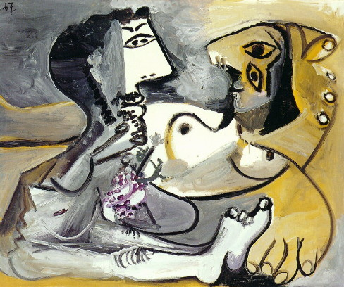 Naked-man-and-woman-Pablo-Picasso-1967m